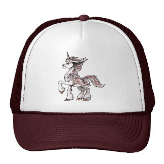 Owl Unicorn Trucker Hat
