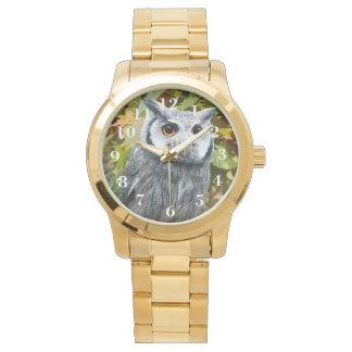 Owl Unisex Oversized Bracelet Watch