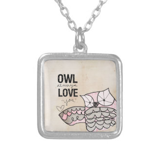 Owl Valentine   Owl Always Love You Necklace