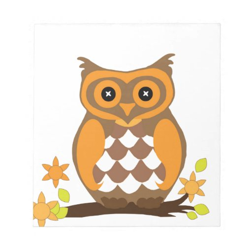 owl waiting for mom love memo notepads