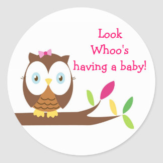 Owl Whoo Stickers