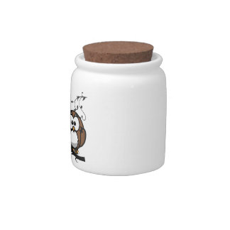 Owl Whooo Candy Jar