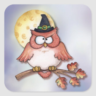 Owl Witch - Stickers