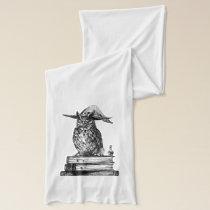 Owl witchcraft magic scarf