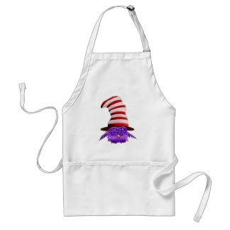 Owl with a Hat Adult Apron