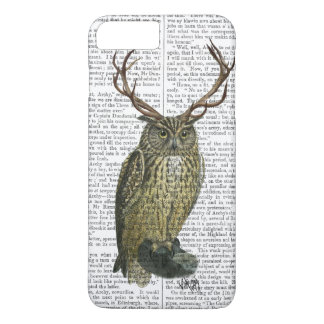 Owl with Antlers plain 2 iPhone 7 Plus Case