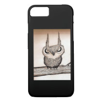 Owl with Attitude iPhone 7 Case