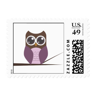 Owl with Branch.ai Postage