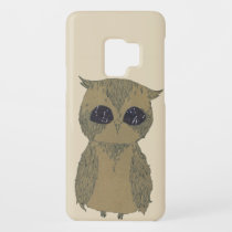 Owl with galaxy eyes Case-Mate samsung galaxy s9 case