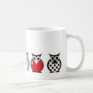 Owl with Heart Mug