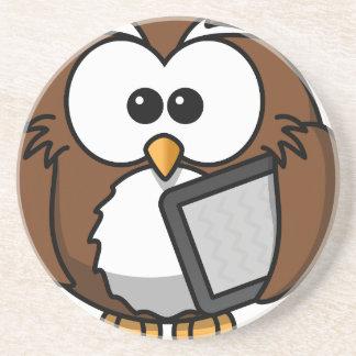 Owl with its shelf