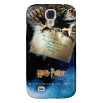 Owl with Letter Movie Poster Galaxy S4 Cover