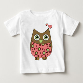 Owl WIth Love Baby T-Shirt
