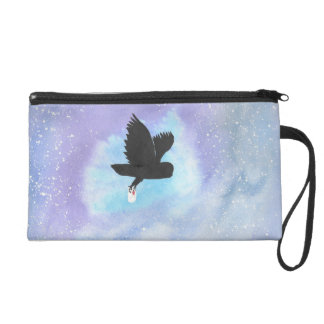 Owl With Mail Wristlet