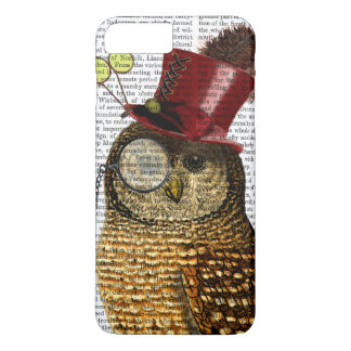 Owl With Top Hat 3 iPhone 7 Plus Case