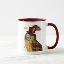 Owl With Top Hat 3 Mug