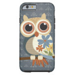 Owl with Vintage Flowers iPhone 6 case iPhone 6 Case