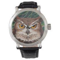 Owl Wrist Watch