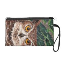 Owl Wristlet Purse