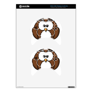Owl Xbox 360 Controller Decal