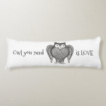 Owl you Need Body Pillow