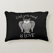 Owl you Need Decorative Pillow