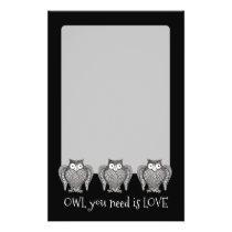 Owl you Need Flyer