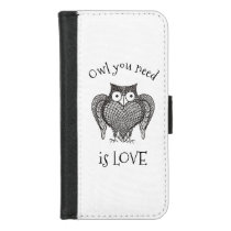 Owl you Need iPhone 8/7 Wallet Case