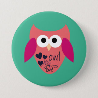 Owl you need is love button