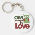 Owl you need is love key chains