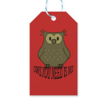 owl you need is me gift tags