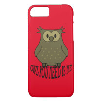owl you need is me iPhone 8/7 case