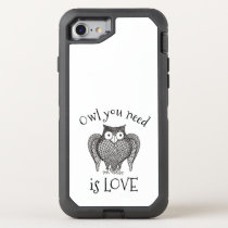 Owl you Need OtterBox Defender iPhone 8/7 Case