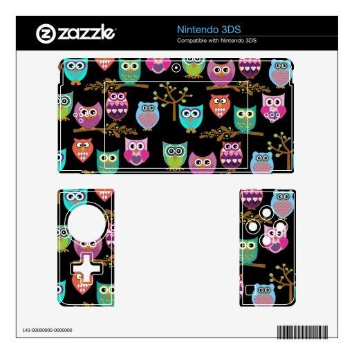 owla skins para 3DS