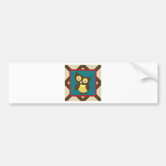 OwlABloom1 Bumper Sticker