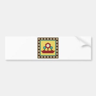 OwlABloom2 Bumper Sticker