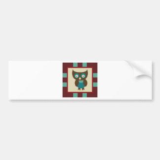 OwlABloom7 Bumper Sticker