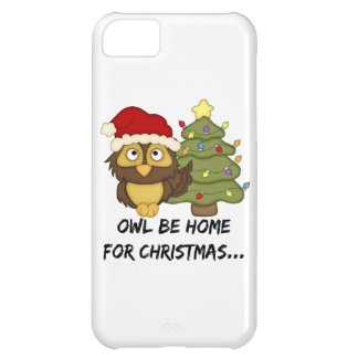 OwlBeHome4Christmas iPhone 5C Covers