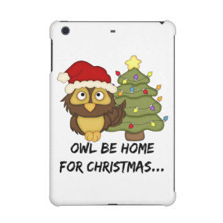 OwlBeHome4Christmas iPad Mini Retina Cover
