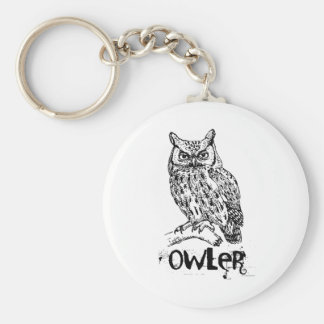 Owler Keychain