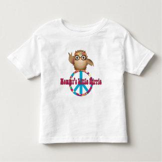Owlet del Hippie Playera De Bebé