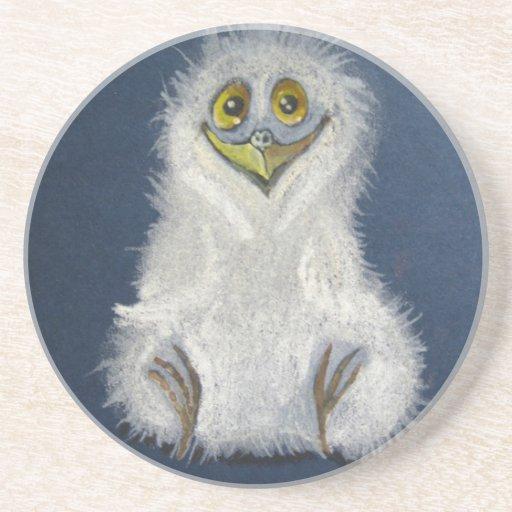 Owlet divertido - pájaro de bebé posavasos manualidades
