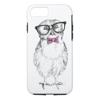 Owlet Nerdy pequeño pero elegante Funda iPhone 7