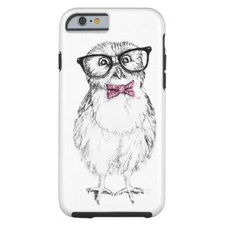 Owlet Nerdy pequeño pero elegante Funda Para iPhone 6 Tough