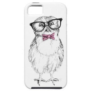 Owlet Nerdy pequeño pero elegante iPhone 5 Fundas