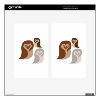 Owlets Decals For Kindle Fire