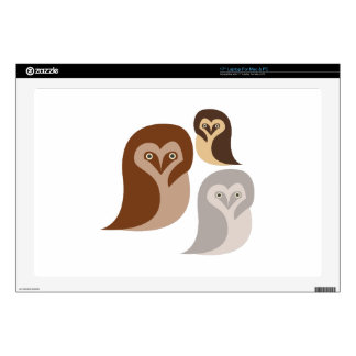 Owlets Laptop Decal