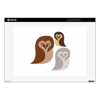 "Owlets Skins For 15"" Laptops"
