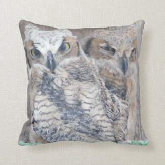 Owlettes Baby Owls Decorative Throw Pillow