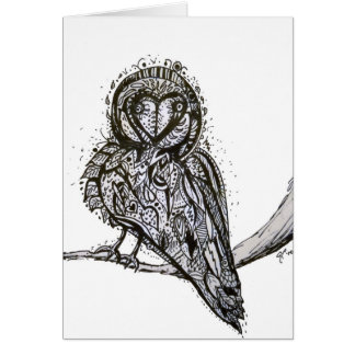 Owlfully Cute Notecard Stationery Note Card
